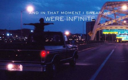 """The perks of being a wallflower – noi siamo infinito""                                                di S. Chbosky"